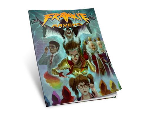 Frankie Ravens Comic Book