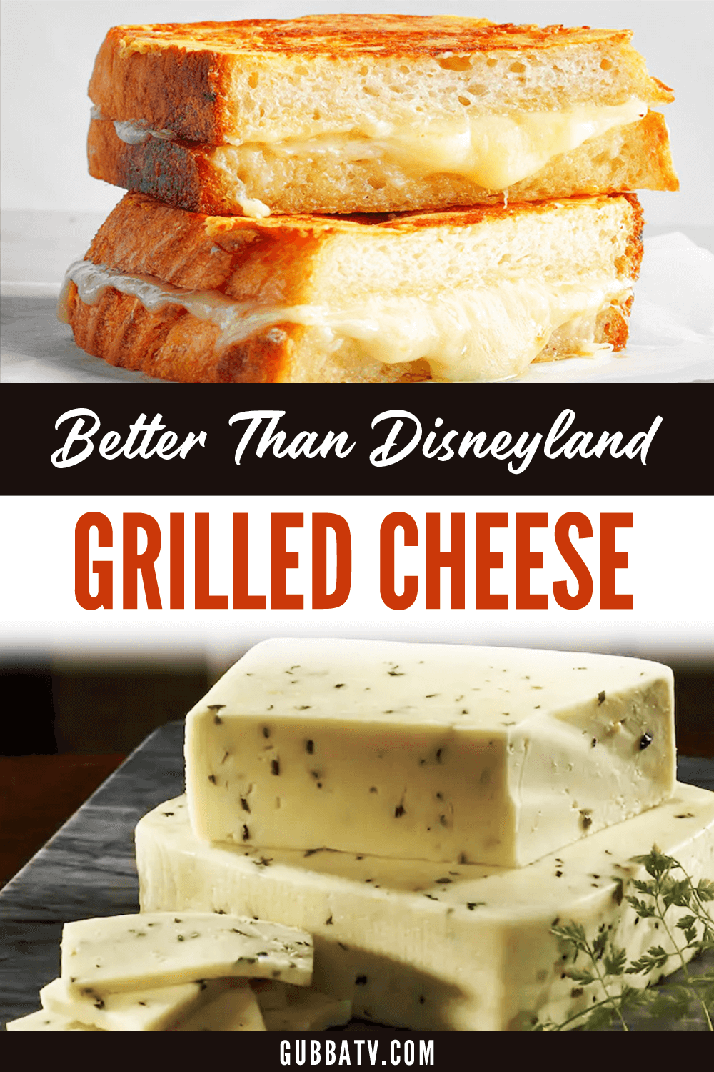 Better Than Disneyland Grilled Cheese