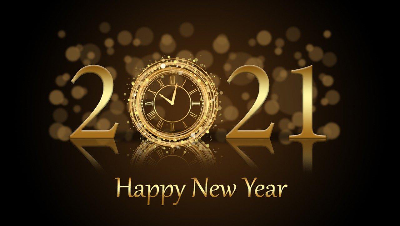 Happy New Years - 2021!