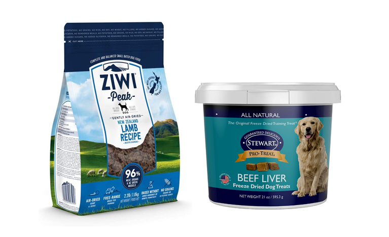Ziwi dog food and treats