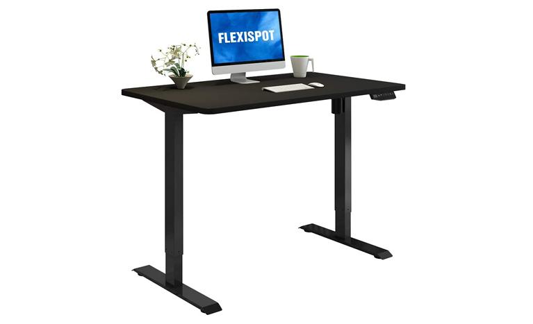 flexispot desk for live streaming