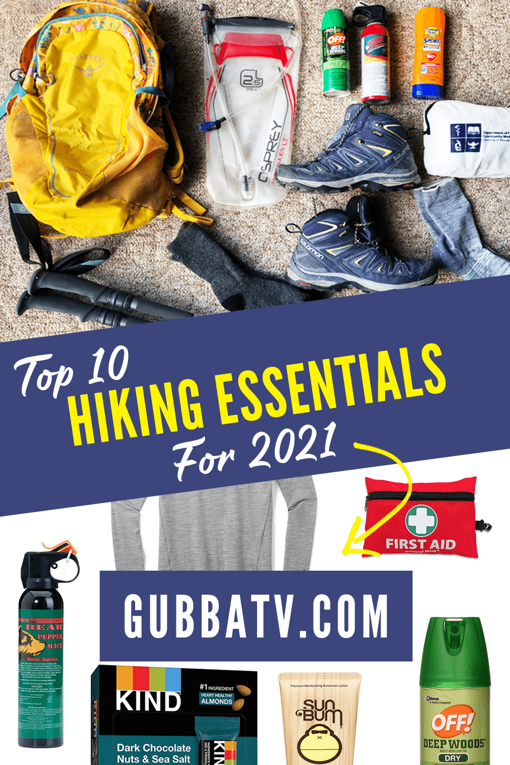 Top 10 Hiking Essentials For 2021