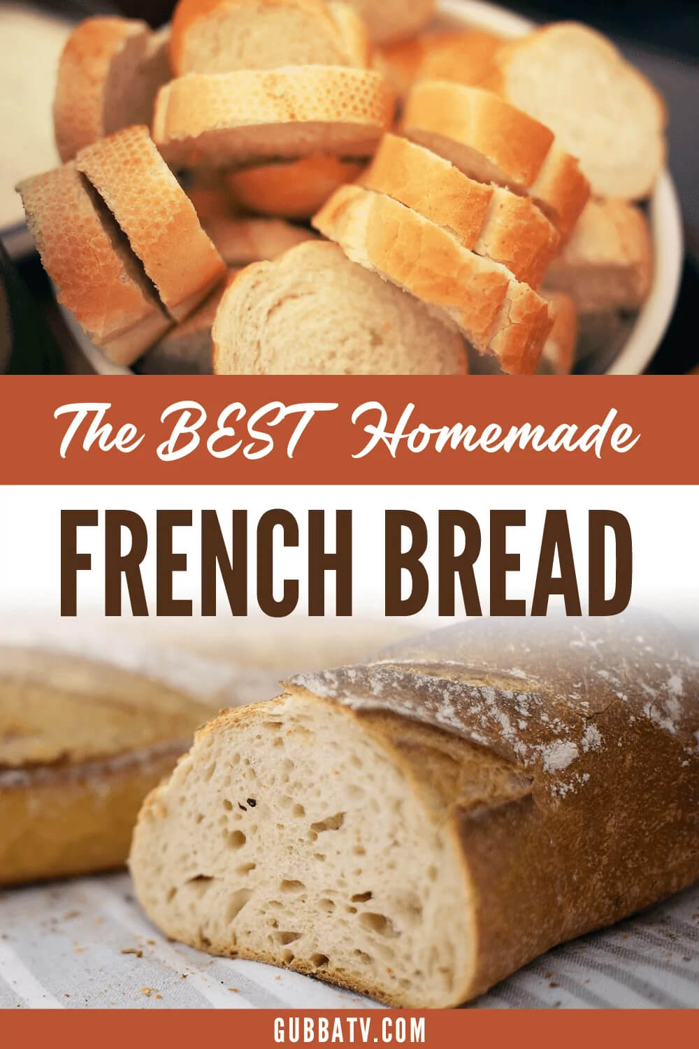 The BEST Homemade French Bread