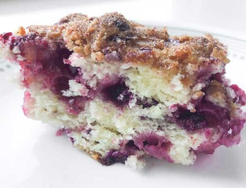The Ultimate Huckleberry Coffee Cake