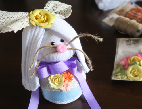 Easter Craft Idea Sock Bunny