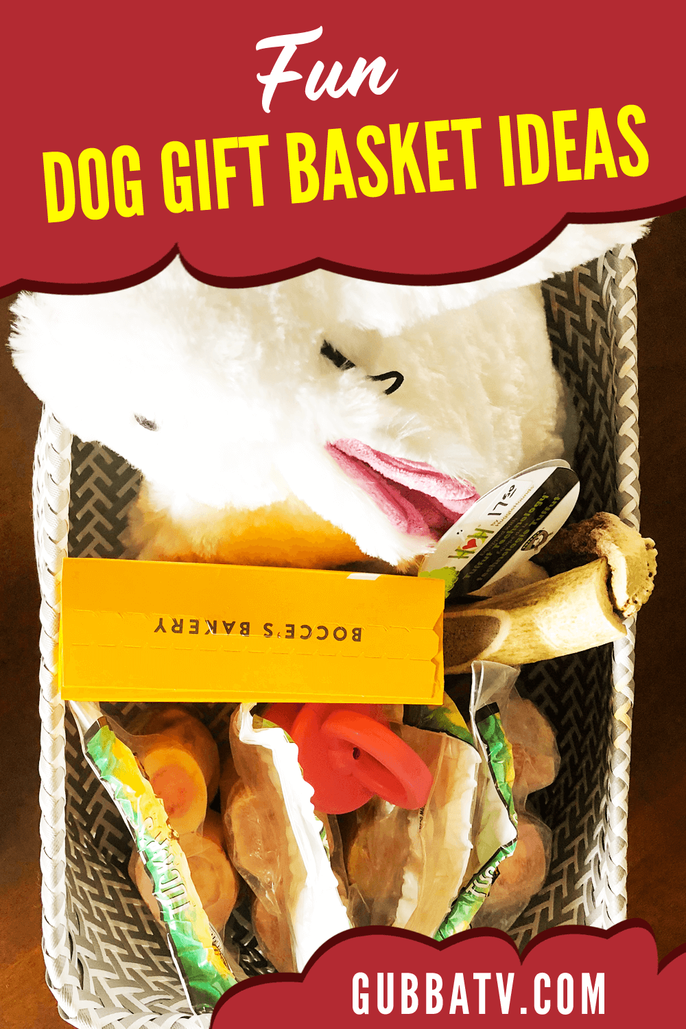 Fun Dog Gift Basket Ideas