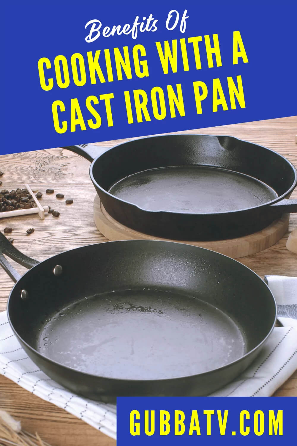 Benefits Of Cooking With A Cast Iron Pan
