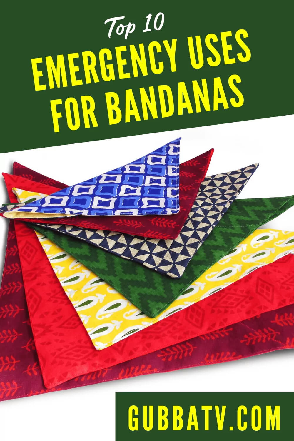 Top 10 Survival Uses For Bandanas