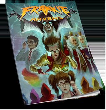 Frankie Ravens Episode 1 book image