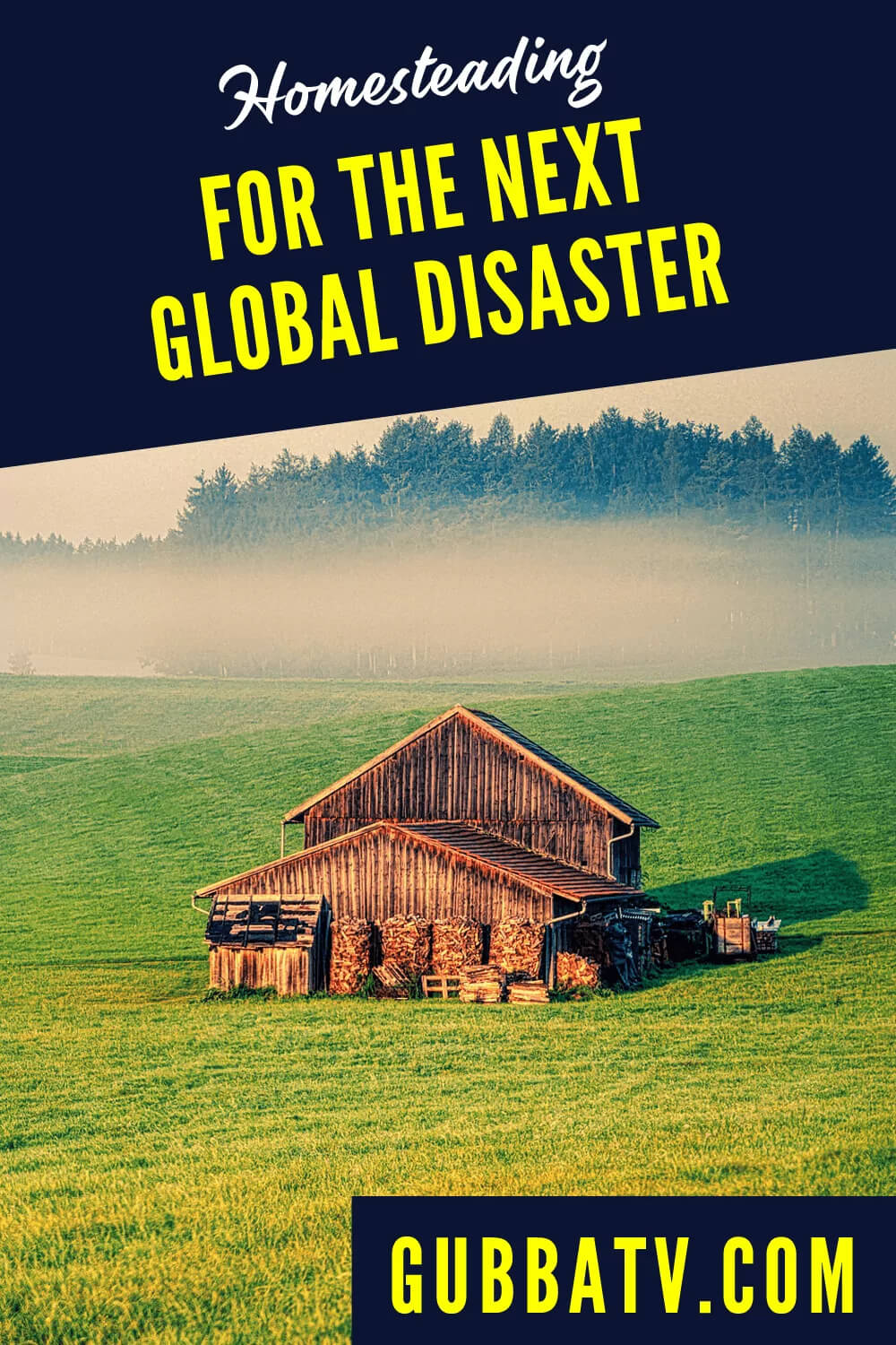 Homesteading For The Next Global Disaster