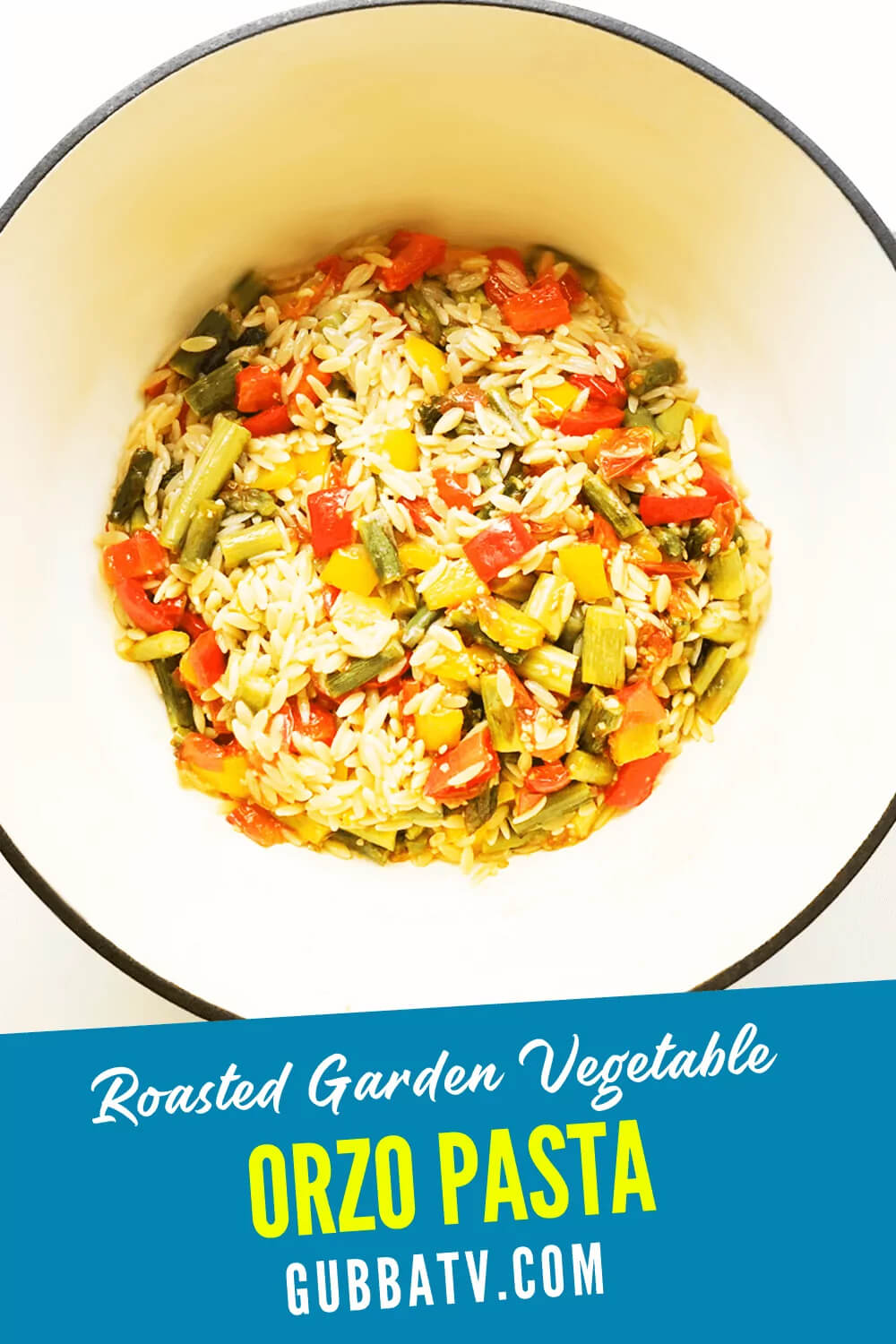 Orzo Recipe With Roasted Vegetables