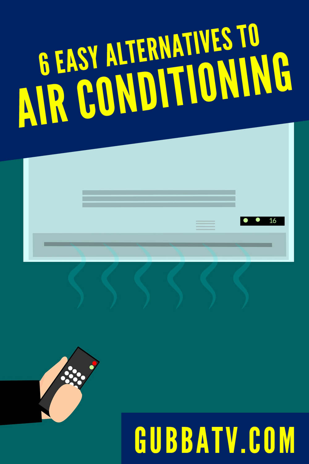 6 Easy Alternatives to Air Conditioning