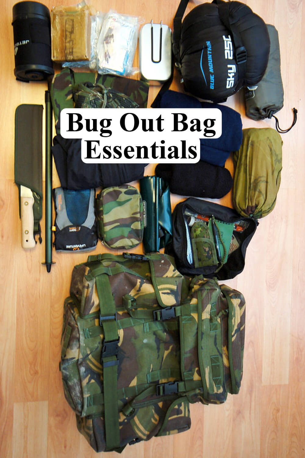 Bug Out Bag Essentials List 15 Must Haves