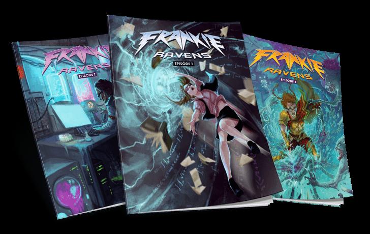 Frankie Ravens graphic novels