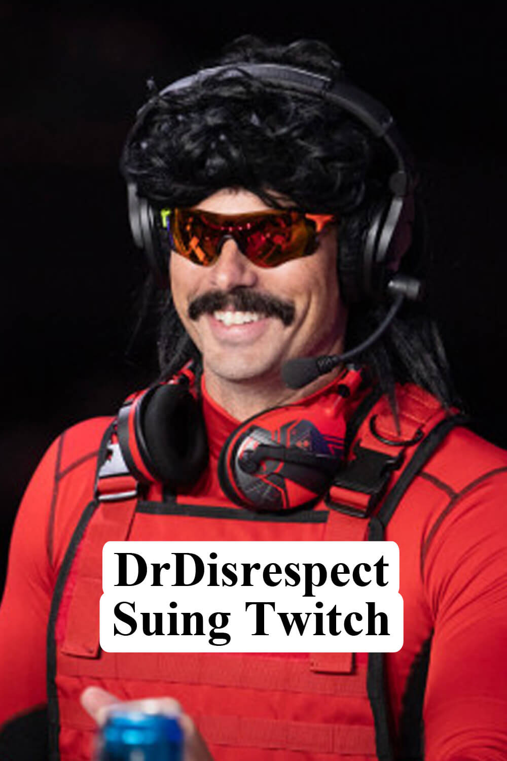 Dr. Disrespect Is Suing Twitch